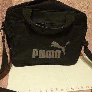 puma bag, black handles & xbody strap